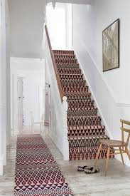 Magnificent Striped Stair Runner Image Ideas with Rug Colour Stairs