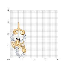 Золотая <b>подвеска</b> «Знак зодиака <b>Скорпион</b>» <b>SOKOLOV</b> – купить в ...