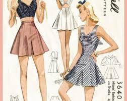 Vintage Sewing Patterns Classy Vintage Sewing Patterns Etsy
