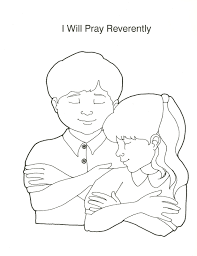 Lds Primary Coloring Pages Prayer Home Design Ideas Home Design