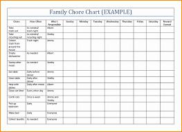 Chore Chart Templates Free Printable Family Chore Charts Templates Capriartfilmfestival
