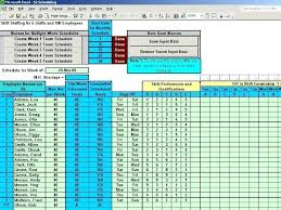 shift work schedules 24 hour work schedule template excel schedule multiple shifts