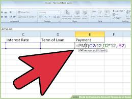 Loan Format In Excel 4 Ways To Calculate Amount Financed In Excel Wikihow