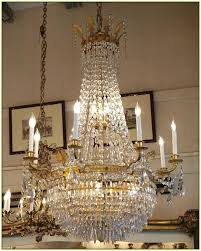 antique french empire crystal chandelier photo ideas