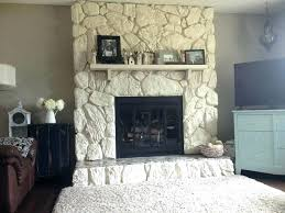 luxury how to paint a stone fireplace or gray painted stone fireplace painting stone fireplace ideas