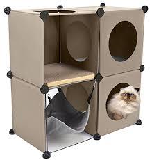 Diy cat playhouse Furniture Cats In Cubes Modular Cat Condo Furniture Diy Tree Cool Cat Tree Plans Free Cat Tree Plans Cool Cat Tree Plans