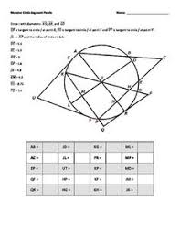 world s hardest easy geometry problem classroom ideas monster circle puzzle 2 segments formed by secants tangents and chords