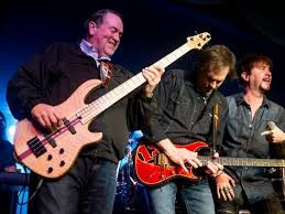 Image result for Huckabee playing bass