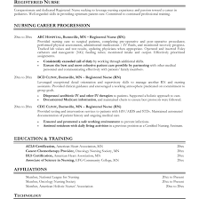 Resume Registered Nurse Registered Nurse Resume Samples For Study At Nursing All Resume 3