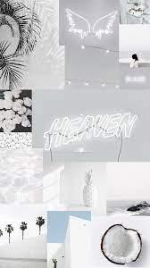 White aesthetic iPhone wallpaper ...