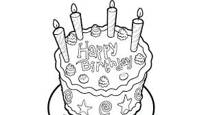 Cupcake Color Sheet Birthday Cake Coloring Sheet Coloring Pages Cake