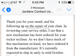 27 JORDANS FURNITURE Reviews and plaints Pissed Consumer