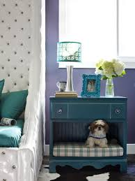 dog bedroom furniture. Nightstand Dog Bed \u2013 An Old Flea-market Dresser Into A Combination Bedside Table And Pet Bed. DIY Network Has More Unique Ideas Instructions On How To Bedroom Furniture R