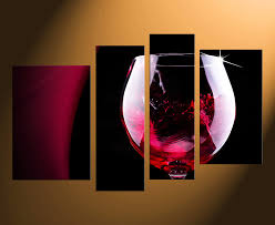 4 piece wall art home decor wine multi panel art kitchen large pictures on 4 piece wall artwork with 4 piece canvas wall art red wine multi panel art wine glass canvas