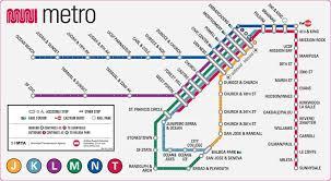 muni metro map sfmta Lrt Map Pdf about this map lrt map kuala lumpur