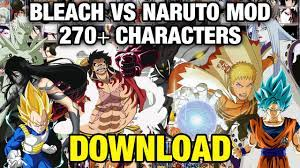UPDATE] Bleach Vs Naruto MOD with 270+ Characters (PC) [DOWNLOAD]