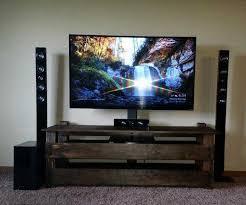 classic tv stand decor