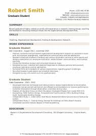Follow expert advice, and learn from good. Graduate Student Resume Samples Qwikresume