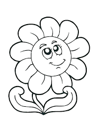 Spring Flowers Coloring Pages Spring Flowers Coloring Pictures