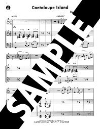 Cantaloupe Island Chord Chart Jazzbooks Com Product Details
