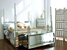 Mirrored Canopy Bed King Bed With Mirrored Canopy Co King Size ...