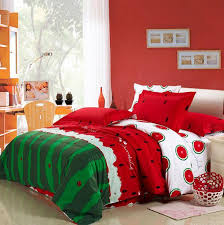 watermelon bedding set king size queen