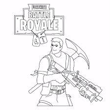 Battle Royale Fortnite Kleurplaat Beste Kleurplaat In Fortnite