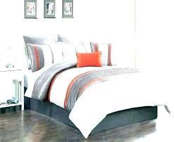 orange and gray bedding sets light grey bedding sets comforter full exclusive design orange and gray