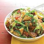 bacon and cabbage home fries