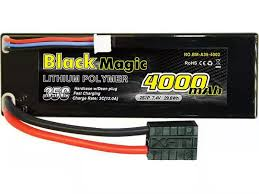 Black Magic 35C/4000mah/7.4V,2S1P (hardcase w/<b>Traxxas</b> Plug ...