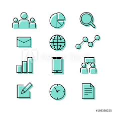 Where To Buy Chart Paper Buiness Corporate Teamwork Graph Chart Paper And Time Icon