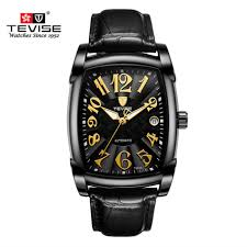 New Style <b>TEVISE Brand Luxury</b> Men Square Waterproof Stainless ...