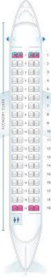 Seat Map Aer Lingus Atr 72 600 Seatmaestro