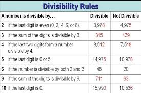 Resourceaholic  Divisibility Rules I didn     t bother teaching the rule for divisibility by   because it     s not straightforward  Rather then memorise this rule I thought my students would be