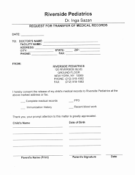 Request For Medical Records Form Template Request For Medical Records Form Template Unique Form