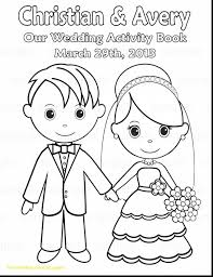Free Wedding Coloring Pages Printable For Weddings Kids Fun Dress