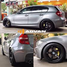 BMW 1 Series E87 Advan Racing GT Forged Wheels in 18