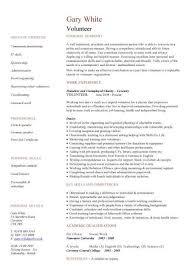 Volunteer Work On Resume Unique 28 Unique Volunteer Work Examples For Resume