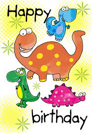 free childrens birthday cards happy birthday dinosaurs free birthday card greetings island