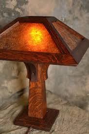 arts and craft style little brown table lamp craftsman lampscraftsman lightingcraftsman