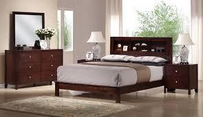 chicago bedroom furniture. Fine Furniture Baxton Studio Montana Mahogany Brown Wood 5Piece King Modern Bedroom Set  In Espresso On Chicago Furniture M