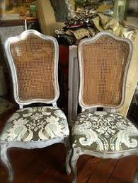 s the home magician a pair of frenchy cane back chairs dining table