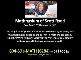 mathnasium of scott road surrey reviews math experts  mathnasium of scott road surrey reviews math experts 604 591 6284