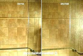 how to clean shower doors how to clean shower doors with cleaning using c clean shower