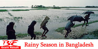 rainy season monsoon short essay or composition be exam result flood very often the excessive water of the rain causes flood the flood damages crops in the field sometimes it washes away the cattle and houses