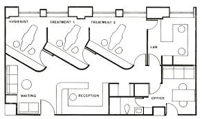 dental office floor plan. Dental Office, With A Few TweaksSalon. Modify Door To Bathroom Office Floor Plan M
