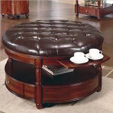 42 most wonderful oversized leather ottoman rectangular ottoman coffee table round leather coffee table round leather