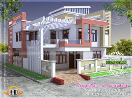 Small Picture Beautiful Home Indian Design Contemporary House Design