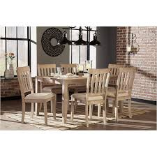 d484 425 ashley furniture mattilone dining room dining table