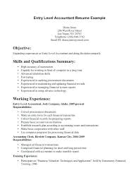 Entry Level Resume Objective Entry Level Management Resume Objective Examples 70